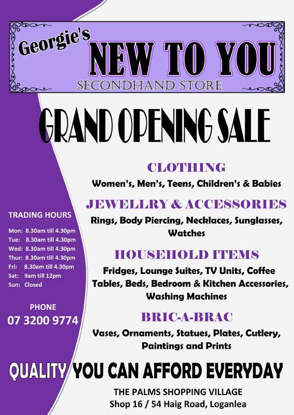 business grand opening flyer